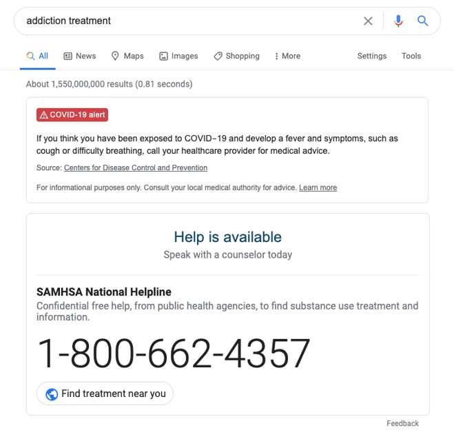 SAMHSA Box Google BuzzFactory