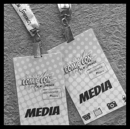 Comic Con Palm Springs PR
